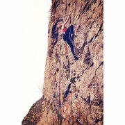4/21/14 - 27th birthday climbing at Storm Mountain Island area in Big Cottonwood Canyon