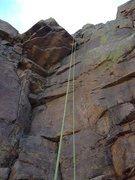 Rock Climbing Photo: Dos Gorditos, 5.10b/c.