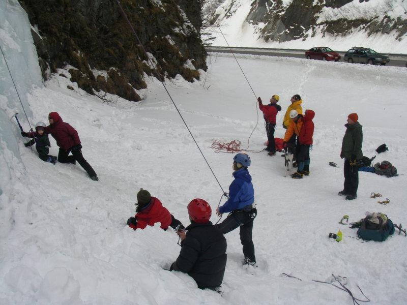 Rock Climbing Photo: POS