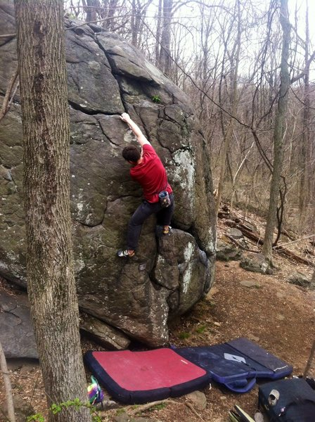 Rock Climbing Photo: Classic line