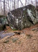 Rock Climbing Photo: Anybody have any info on this boulder? Seems to be...