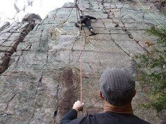 Rock Climbing Photo: M-Lady heading north