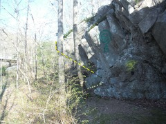 Rock Climbing Photo: Black Sun Rises. Crappy picture, but at least it k...