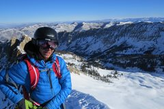 Skiing in the Wasatch