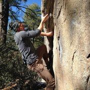 Rock Climbing Photo: grooms creek,az