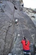 Rock Climbing Photo: Ranger Crack (lower Yosemite falls) Best crack cli...