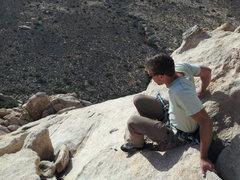 Rock Climbing Photo: Walk on the wild side JoshuaTree,CA