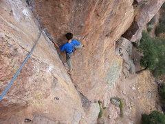 Rock Climbing Photo: Tom following