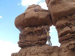 Rock Climbing Photo: Horn Lassoing