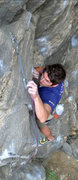 """Rock Climbing Photo: Old lead bolt four. Rawl 3/8"""" plated. Upgrade..."""