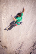 "Rock Climbing Photo: Lonnie Kauk, on ""Holey Wars"""