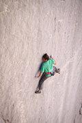 Rock Climbing Photo: Lonnie Kauk on Holey Wars