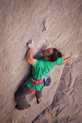 Rock Climbing Photo: Lonnie Kauk, on Holey Wars