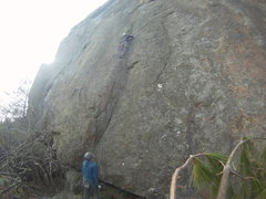 Rock Climbing Photo: First time on Dobie Gillis.
