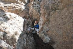 Rock Climbing Photo: Chimney clip.