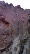 Rock Climbing Photo: LDDEL dihedral