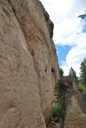 Rock Climbing Photo: Jon on the Rodeo.