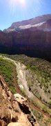 Rock Climbing Photo: Best bivy in Zion.