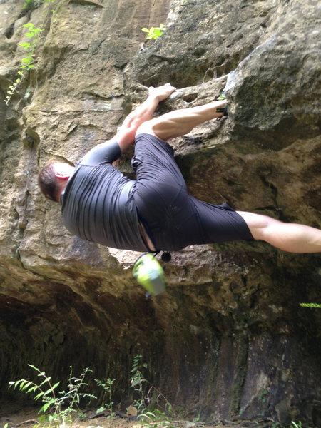 Bouldering in Muscatatuck