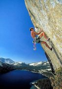 Rock Climbing Photo: Matt Beebe on Death Crack. Photo by Chris Falkenst...