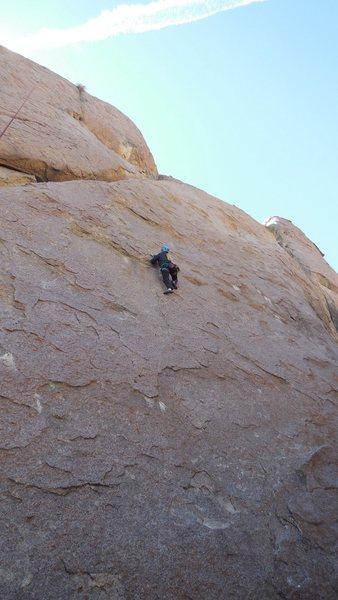 Rock Climbing Photo: On the Alabama Hills Gang.