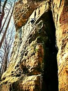 Rock Climbing Photo: The Classic 5 Star 27 Years of Climbing Route. Loc...