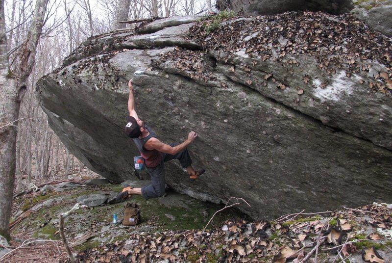 Rock Climbing Photo: Canus Dirus (FA).