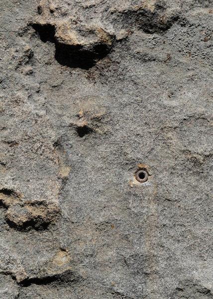 Rock Climbing Photo: Self-drill bolt