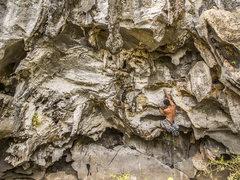 Rock Climbing Photo: Bouldery start.