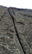 Rock Climbing Photo: A Black Hills Splitter-top half of Aces High