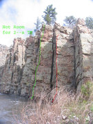 Rock Climbing Photo: Not Room 4 2 is a TR problem since there is no led...