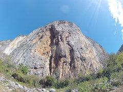 Rock Climbing Photo: Oaxaca - Mixteca: Peña Colorada in Santiago Apoal...