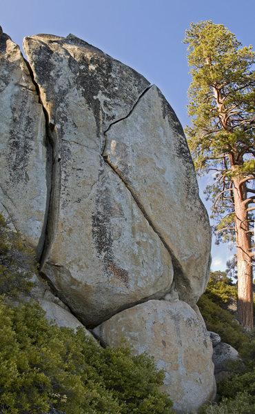 The Crystal Bay Boulder