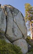 Rock Climbing Photo: The Crystal Bay Boulder
