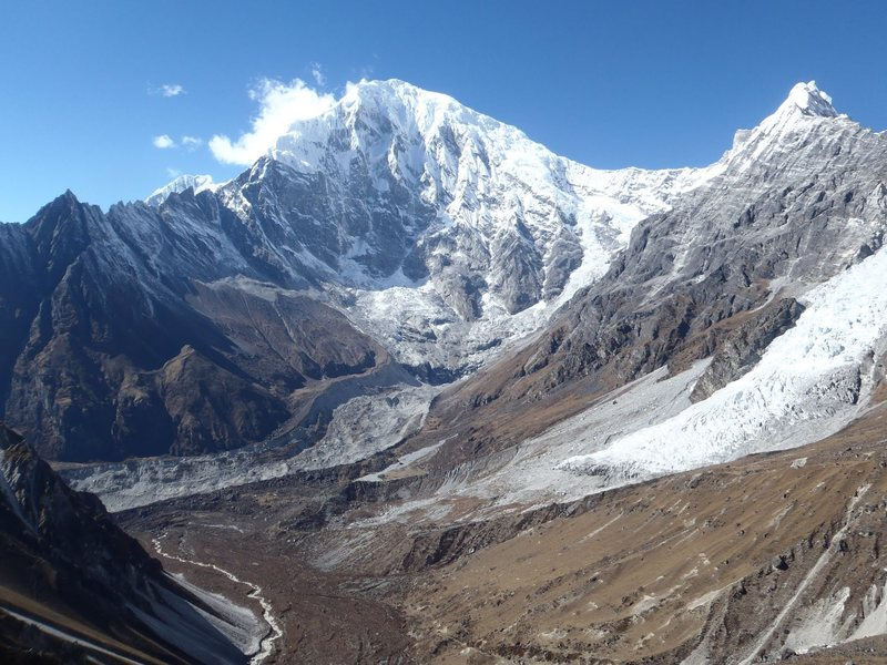Lirung glacier, Nepal