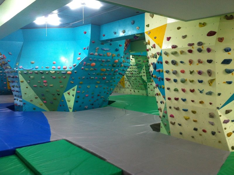Rock Climbing Photo: Gunsan bouldering climbing gym
