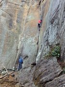 Rock Climbing Photo: One of many great lines at Funkrock