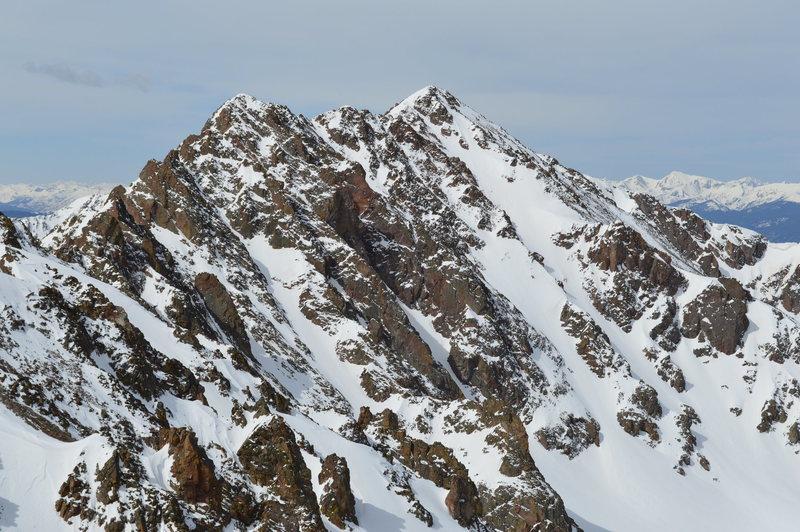 North Face of Red Peak.