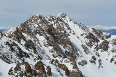 Rock Climbing Photo: North Face of Red Peak.