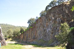 Rock Climbing Photo: Scale Wall routes.