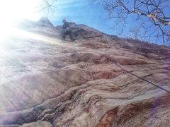 Rock Climbing Photo: Chris Vultaggio on shitface