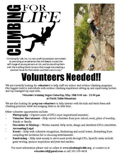 Rock Climbing Photo: Climbing For Life 2014 Volunteer Training.