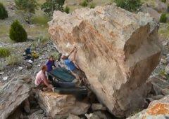 Rock Climbing Photo: Dean on The Big Cheese