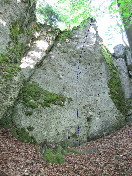 Rock Climbing Photo: Kleiner Feigling