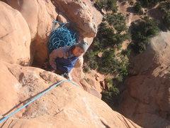 Rock Climbing Photo: Belay stance