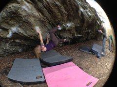 Rock Climbing Photo: Monkey Paw
