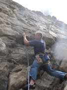 Rock Climbing Photo: Start of Early Bird Special. A good warm-up to TR ...