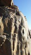 Rock Climbing Photo: The Start of Suzie's Wild Ride