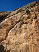Rock Climbing Photo: Dan G. on the route.