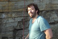 Rock Climbing Photo: Resting between burns on Any Major Dude (5.11+) at...
